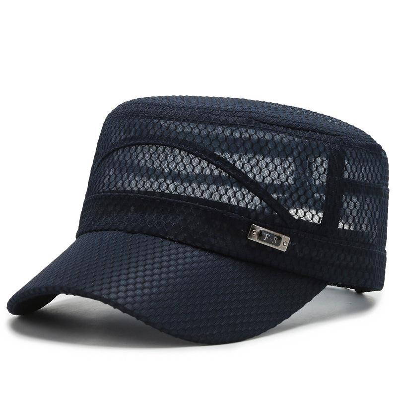 🔥40% OFF🔥Summer Breathable Navy Hat