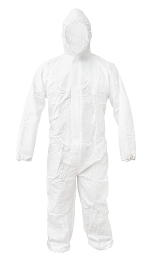 ABC White 55G Microporous Coverall