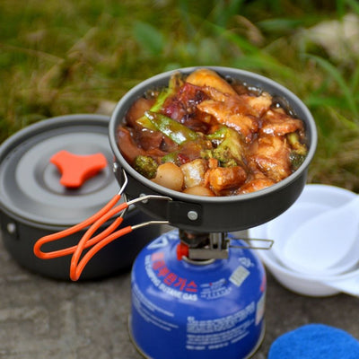 Features and benefits associated with a portable camping stove