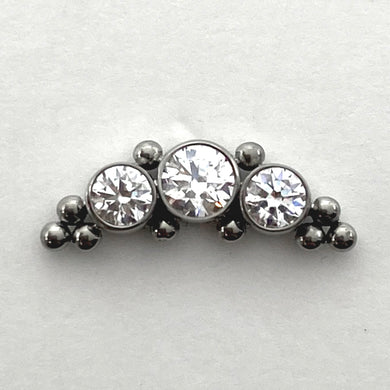 Haute Couture Bijoux 2HT-10 Threaded End