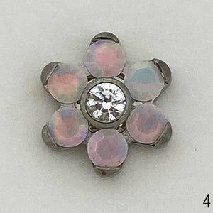 Flower Threaded End 14g