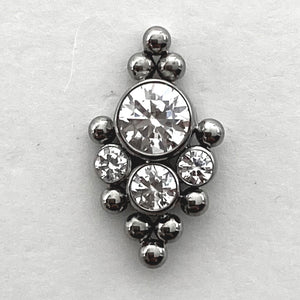 Haute Couture Bijoux 5HT-B Threaded End
