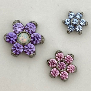 Flower Threaded End 16g