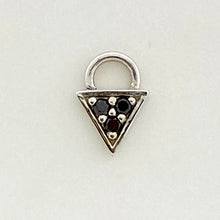 Load image into Gallery viewer, BVLA Micro Pave Triangle Charm