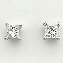 Load image into Gallery viewer, Diamond Ear Stud