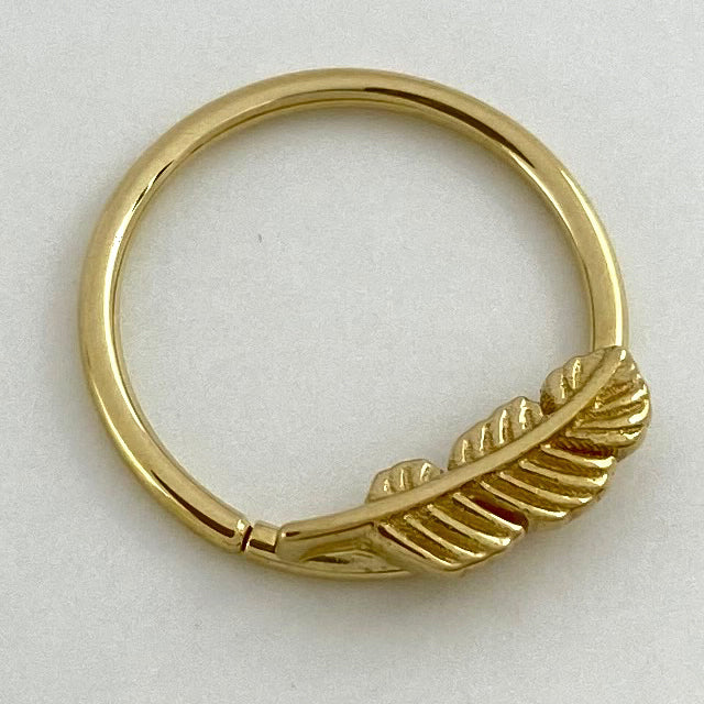 BVLA Feather Seam Ring