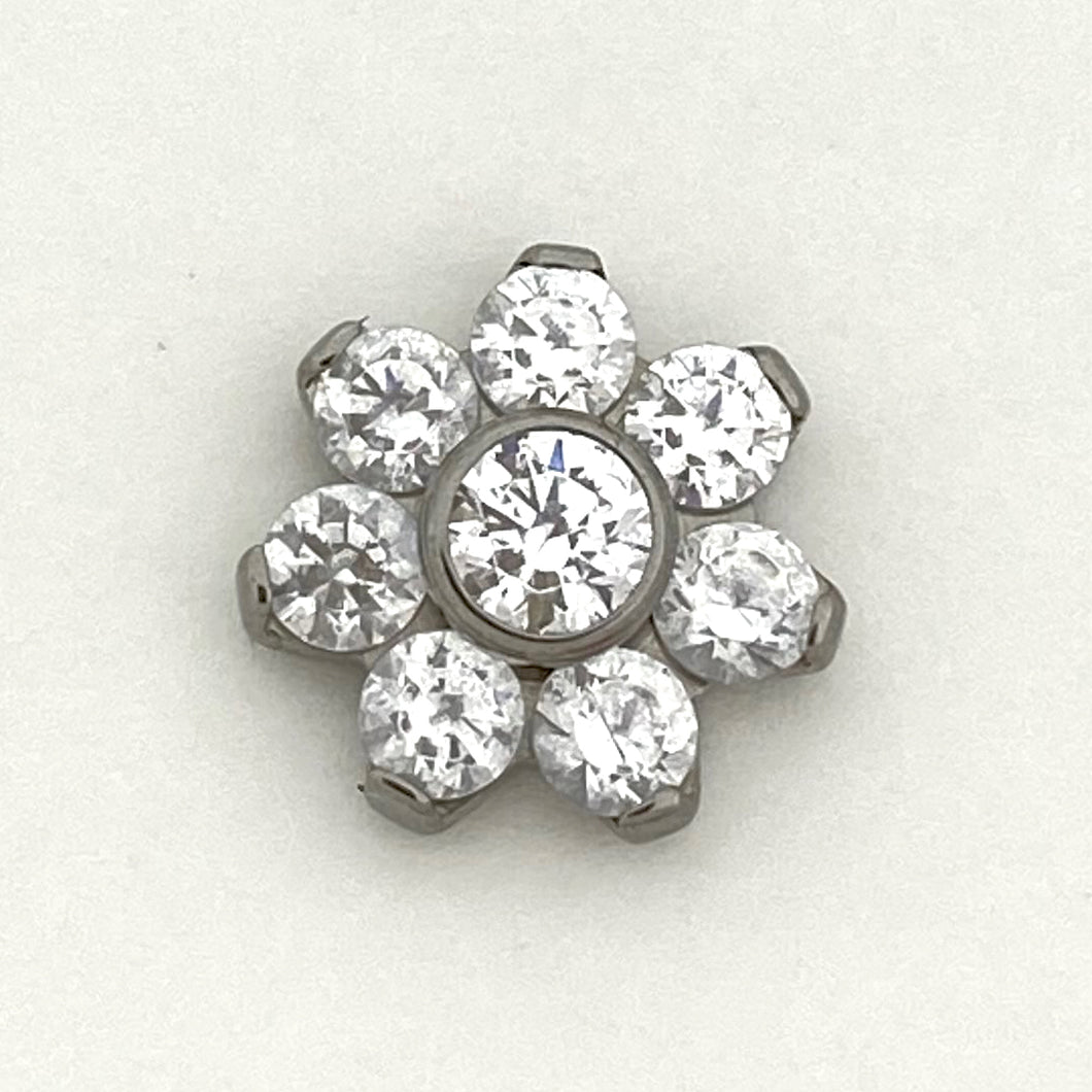 Flower Threaded End