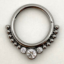Load image into Gallery viewer, Haute Couture Bijoux Seam Ring F