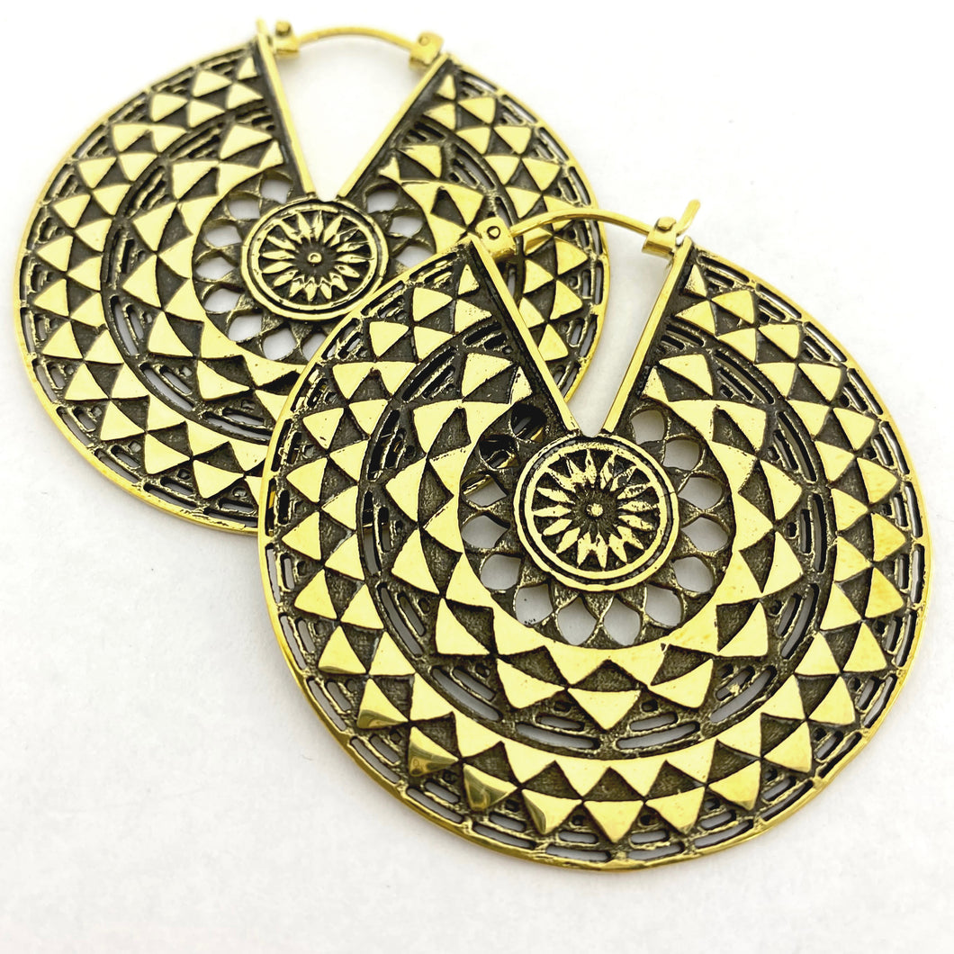 Temple of the Sun Earrings