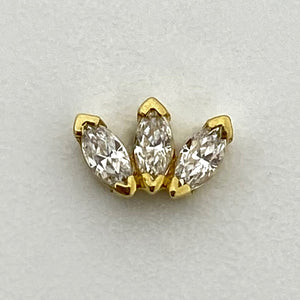 BVLA Marquise Fan Small Threaded End