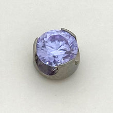 Load image into Gallery viewer, Prong Set Gem Threaded End