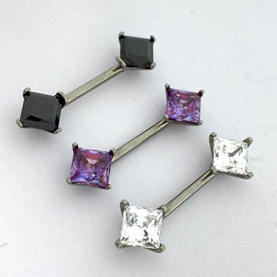 Princess Prong Nipple Barbell