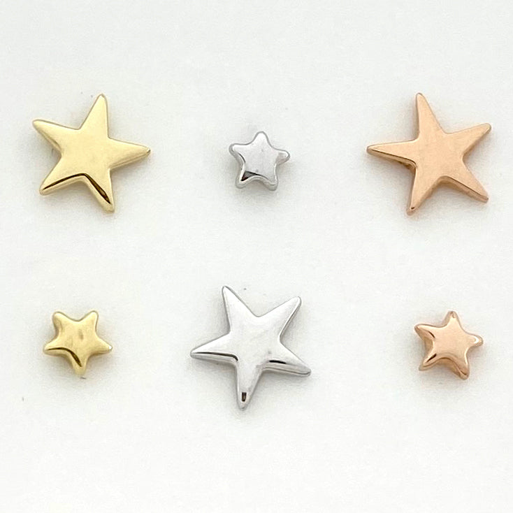 BVLA Flat Star Threadless End