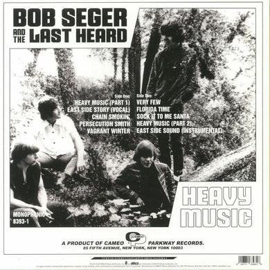 Bob Seger And The Last Heard ‎| Heavy Music: The Complete Cameo Recordings 1966-1967