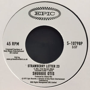 Shuggie Otis | Strawberry Letter 23 / Ice Cold Daydream
