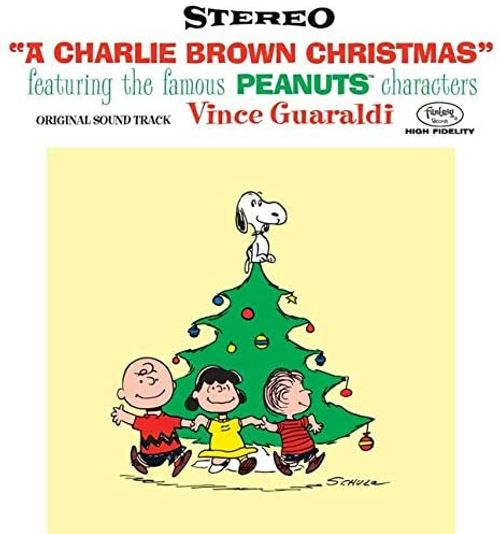 Vince Guaraldi Trio |  A Charlie Brown Christmas (70th Anniversary Lenticular Cover Edition)
