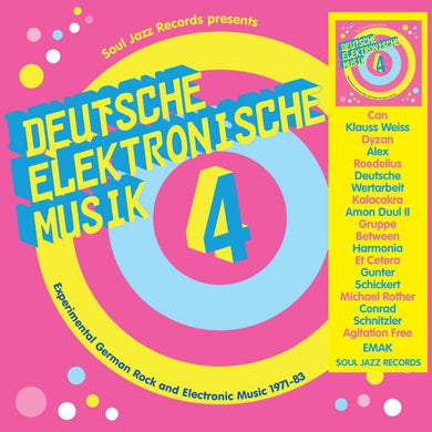 Soul Jazz Presents Deutsche Elektronische Musik 4: Experimental German Rock and Electronic Music 1971-83
