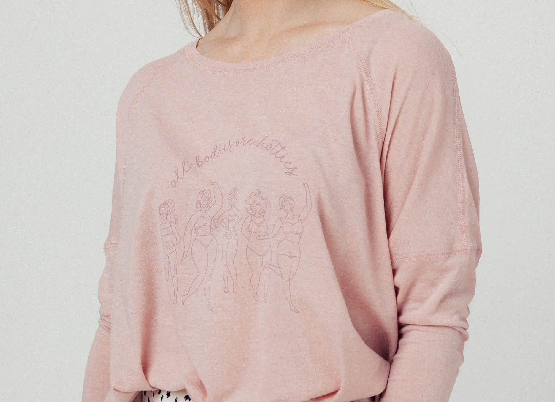FEMINIST LONG SLEEVE T SHIRT