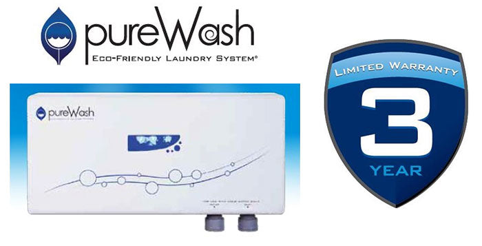 PureWash Eco-Friendly Laundry Cleaning System - NO MORE HOT WATER OR DETERGENT