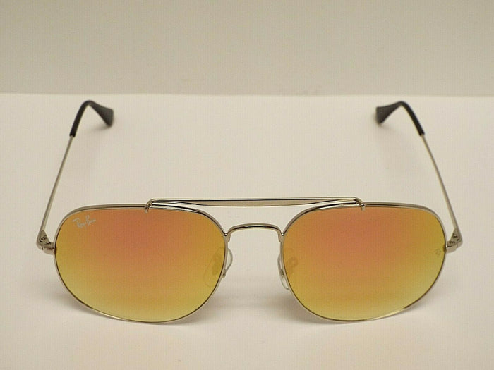 Ray-Ban RB3561 003/7O GENERAL Silver Pink Copper Gradient Flash Sunglasses