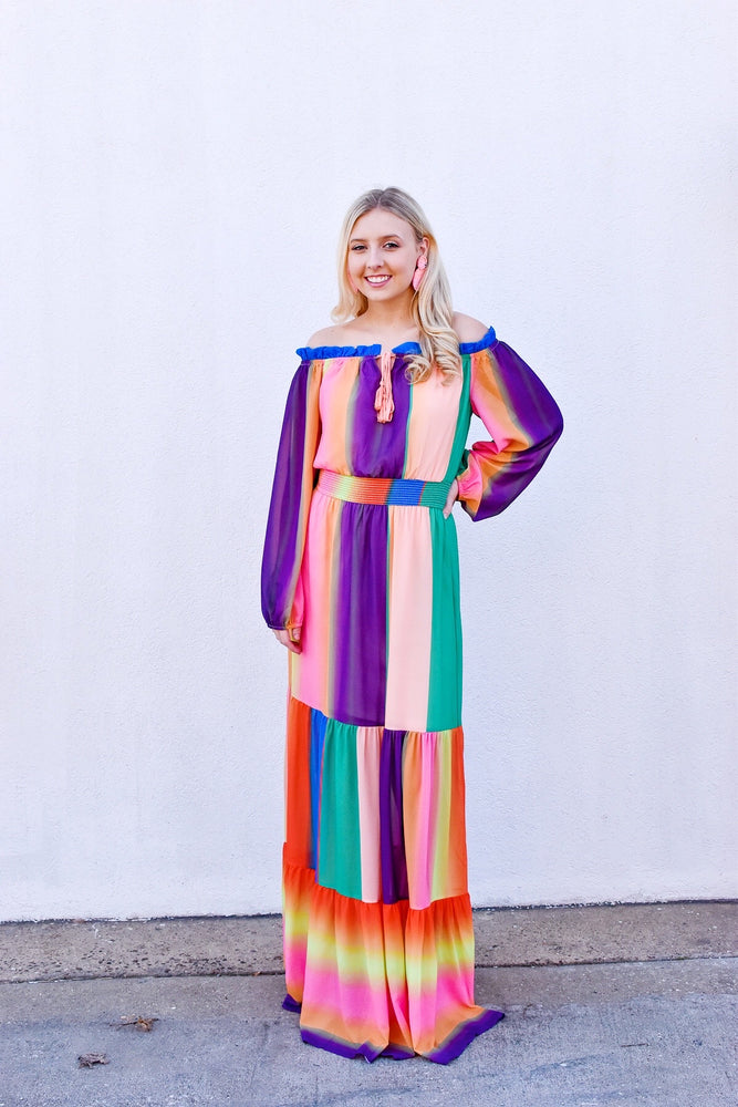 True Colors Maxi Dress