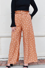 Polka Dot Paperbag Waist Pants