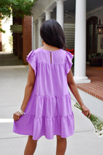 Orchid Tiered Babydoll Dress