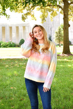 Pastel Rainbow Sweater