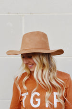 The Hazel Panama Hat (Khaki)