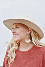 The Hazel Panama Hat (Ivory)