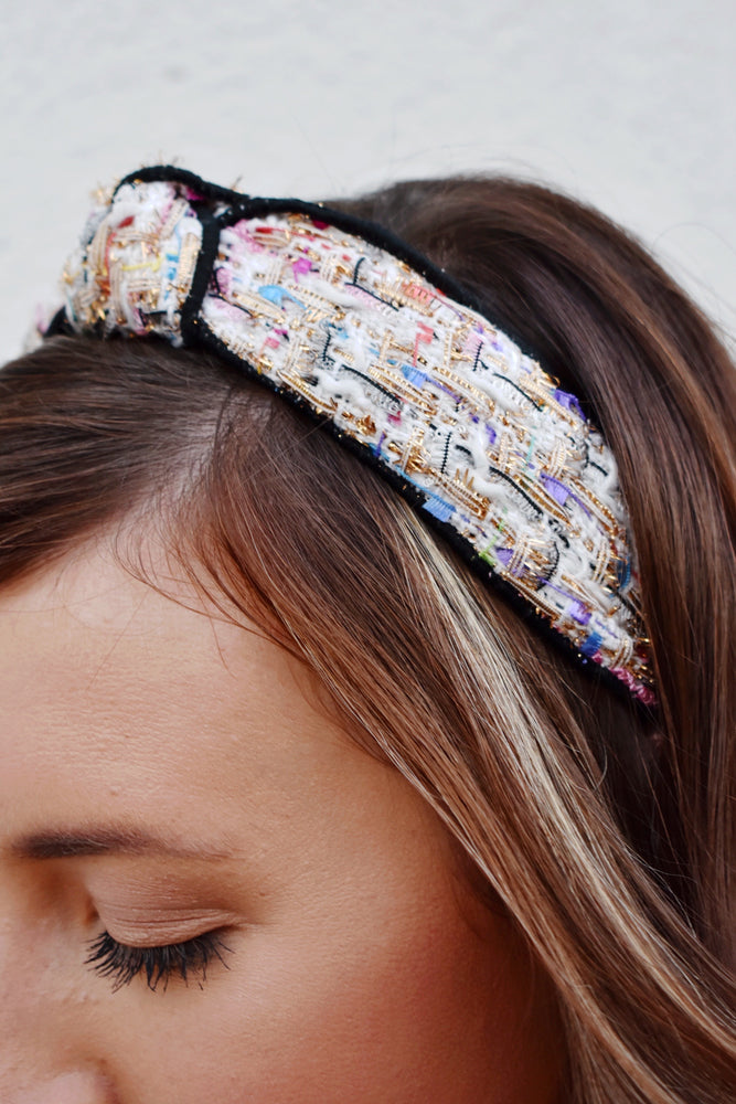 Tweed Multicolor Headband