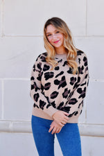 Born To Be Wild Leopard Sweater