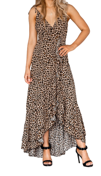 Delilah Wrap Maxi Dress