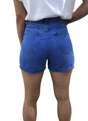 Country Denim Shorts Blue