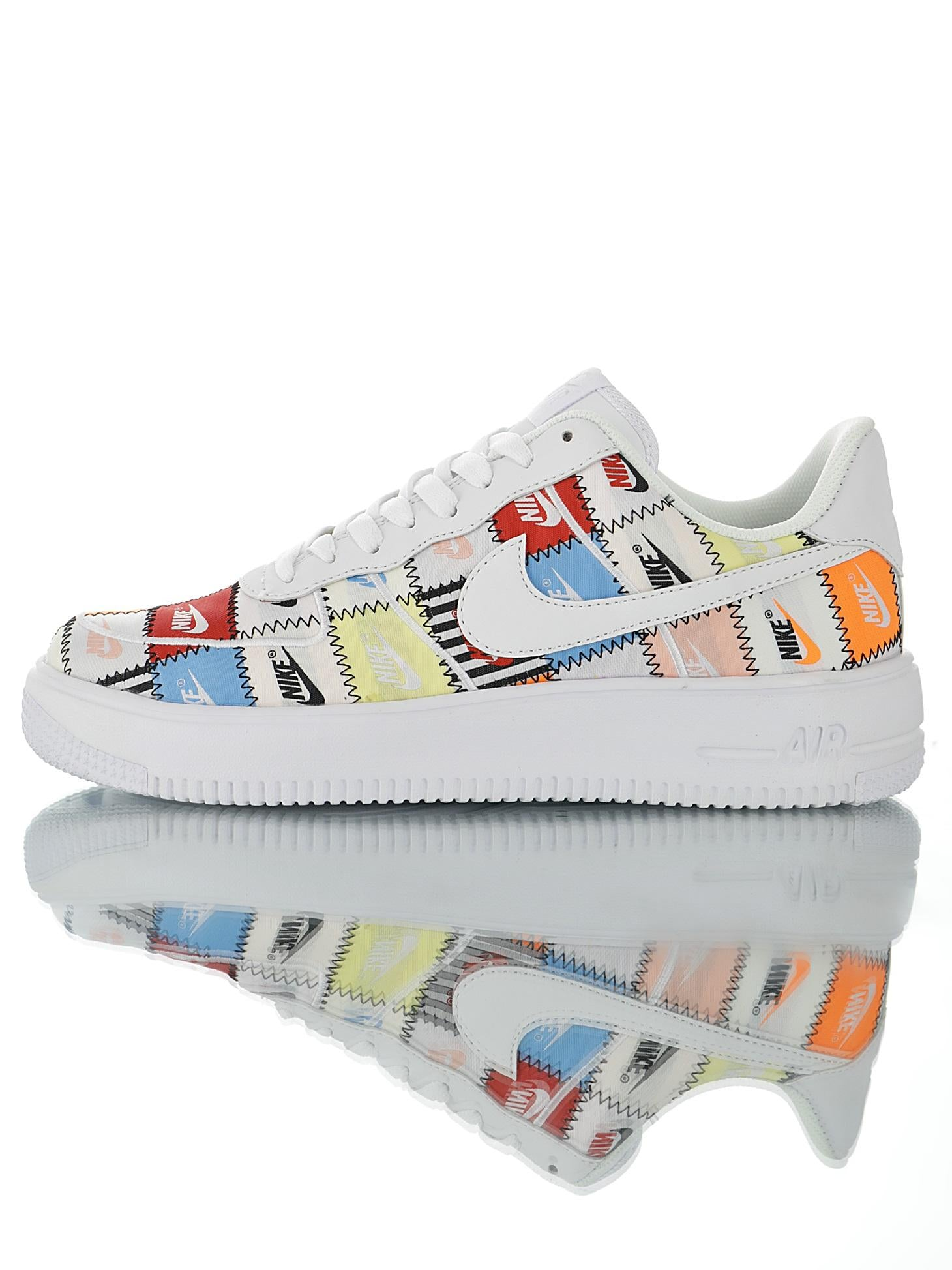 new lower prices super cute affordable price Nike Air Force 1 Flyknit 2.0 Stitches AV3042-800 – Haim Import