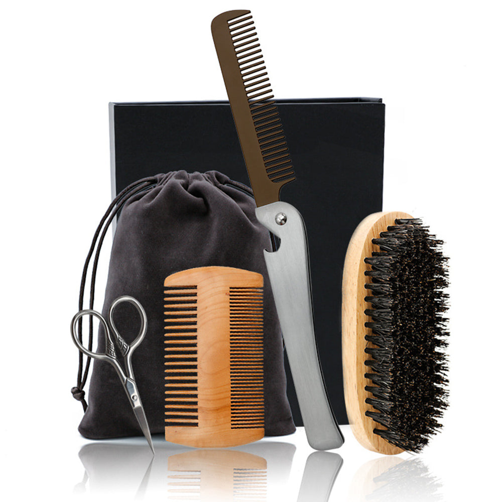 4 Piece Grooming Set - Rad Beard Club
