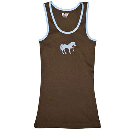 Picture of Filly Horse Brown Junior Tank Top