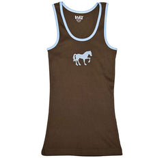 Filly Horse Brown Junior Tank Top
