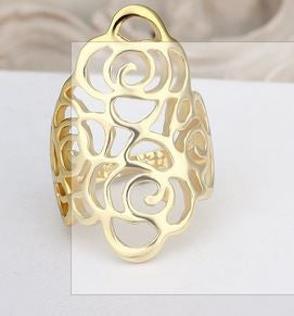 Picture of 18K  Gold Plated Trendy Ring