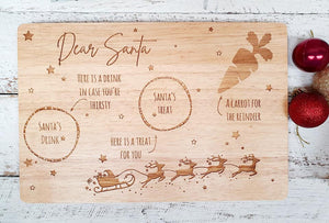 Santa's Treat Board