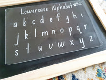 Load image into Gallery viewer, Alphabet, Numbers & Shapes Set - Trace & Wipe Boards