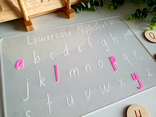 Load image into Gallery viewer, Lowercase Alphabet - Trace & Wipe Board