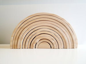 Natural Wooden Rainbow