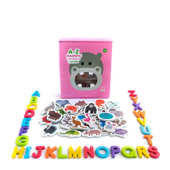 Magnetic Animals and Letters