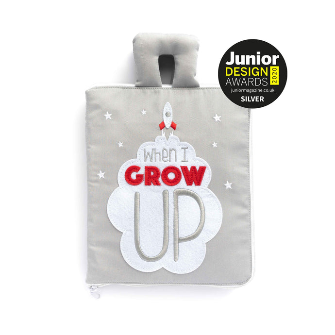 'When I Grow Up' Fabric Activity Book