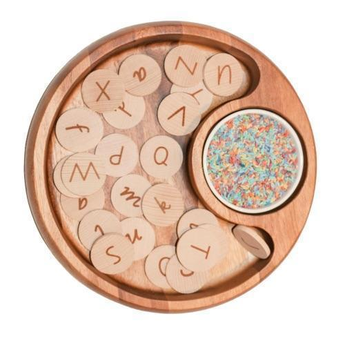 Alphabet Discs Dual Sided Upper and Lower Case