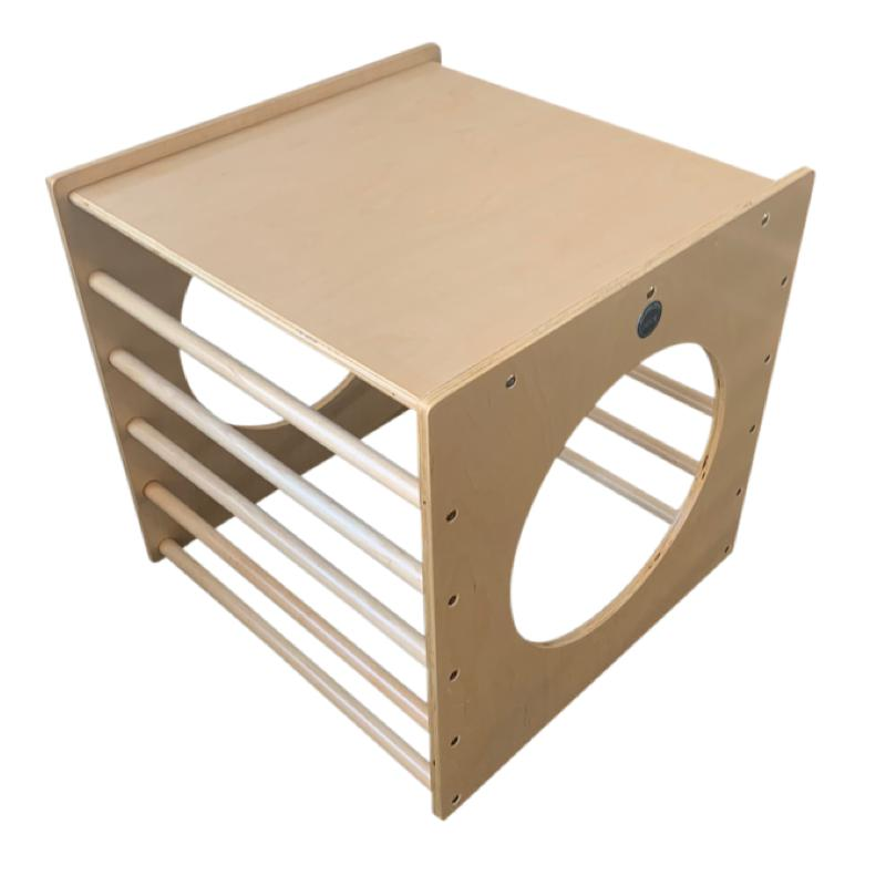 Birch Top Play Cube