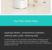 Load image into Gallery viewer, Pet water fountain dispenser