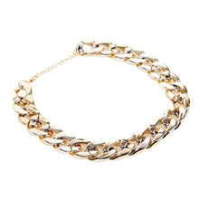 Load image into Gallery viewer, Fashion Dog Chain Collar Gold Tone Cut Curb Cuban Pet Link Customize Wholesale Jewelry Pets Gift Necklace Neck Chain Golden