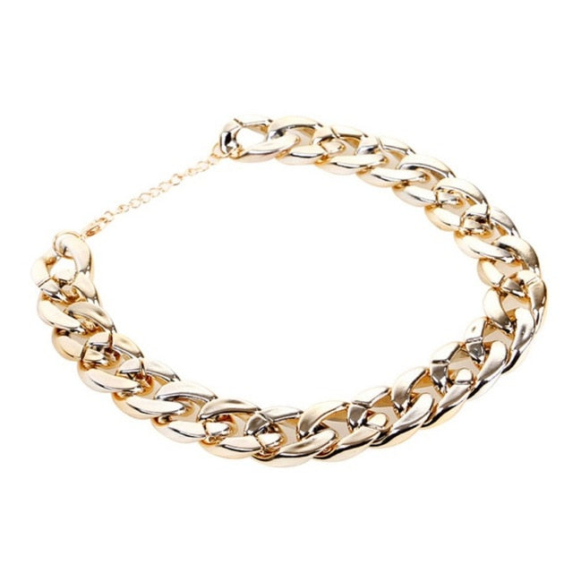 Fashion Dog Chain Collar Gold Tone Cut Curb Cuban Pet Link Customize Wholesale Jewelry Pets Gift Necklace Neck Chain Golden